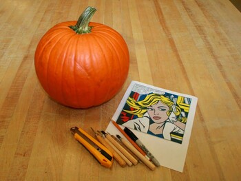 Halloween Pumpkin Relief Carving: Elementary, Middle, High School Visual Art