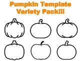 Pumpkin Template for Craft Pumpkin Outline Pumpkin Templates Pumpkin Coloring