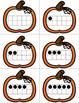 Halloween Pumpkin Ten Frame Matching