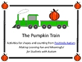 Halloween Pumpkin Train (Freebie for Counting and Shapes)