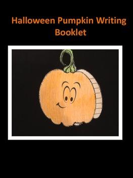 Halloween Pumpkin Writing Booklet
