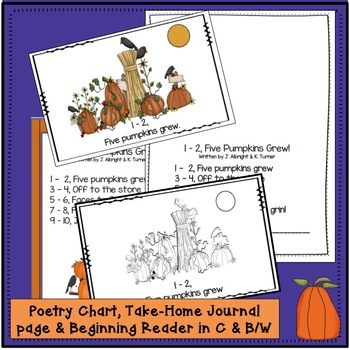 Pumpkin Poem! Literacy & Math Packet