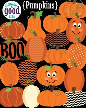 Halloween Pumpkins Clip Art