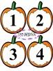 Pumpkins - Halloween - Numbers - Bulletin Board Decorations