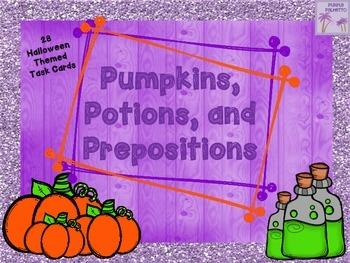 Halloween Pumpkins, Potions, and Prepositions