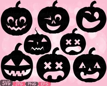 Halloween Pumpkins Trick Or Treat pumpkin face clipart hol