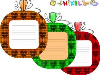 Halloween Activities - Pumpkins - Writing - Bulletin Board Decorations