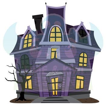 Halloween Pumpkins and Ghosts Clipart, Instant Download Vector Art, Commercial