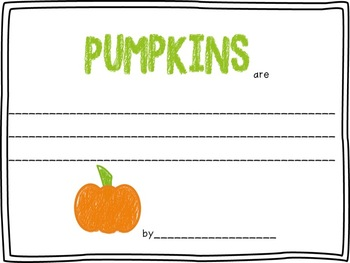 Halloween: Pumpkins are....