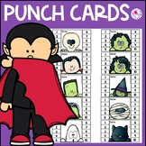 Halloween Punch Cards Peeker | Classroom Management | Posi