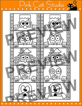 Halloween Punch Cards for Behavior Management & Goal Achievement