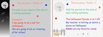Halloween Punctuation Lesson