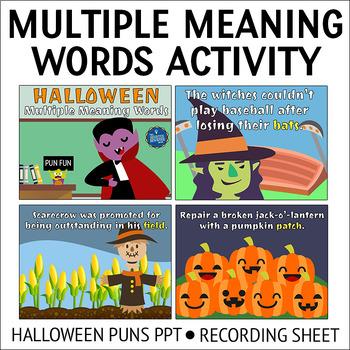 Halloween Brain Teasers PPT