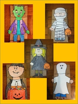 Halloween Puppets 5 for the price of 2