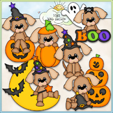 Halloween Puppies Clip Art - Halloween Clip Art - CU Clip