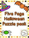 Halloween Puzzle 5 Pack