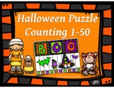 Halloween Puzzle Counting 1-50