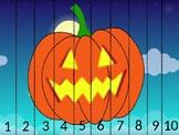 Halloween Puzzle Numbers 1-10