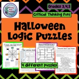 Halloween Puzzle Pack,  Logic Puzzles, Critical Thinking P