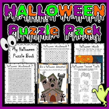 Halloween Puzzle Pack