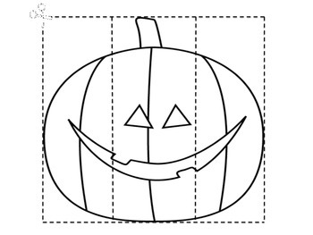 Halloween Puzzle Pages