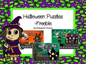 Halloween Puzzles -Freebie