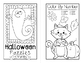 Halloween Puzzles for First Graders Mini Book