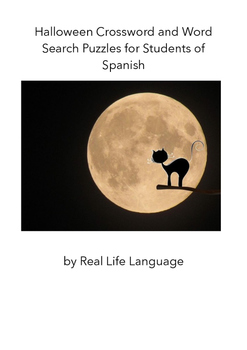 Halloween Puzzles for Students of Spanish