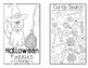 Halloween Puzzles for Third Graders Mini Book