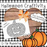Halloween Q-Tip Painting Craftivity Set