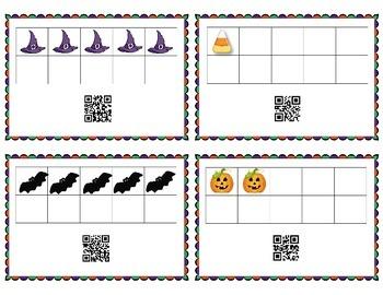 Halloween QR Code Hunt - 10 frames