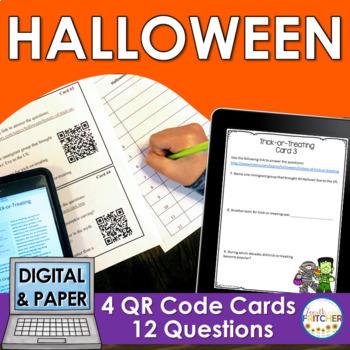 QR Code Quest: Halloween