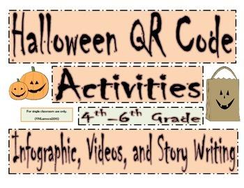 Halloween QR Code Activities