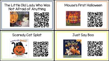 Halloween QR Read Alouds
