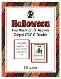 Halloween Question & Answer Easy to read PDF e-book ~ Trivia & Riddles