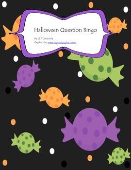 Halloween Question Bingo