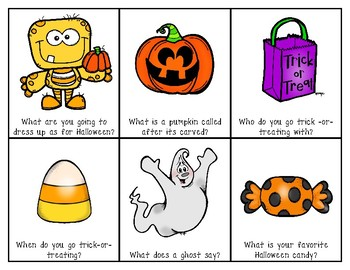Halloween Question Cards