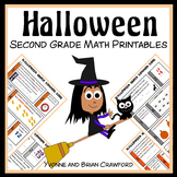 Halloween No Prep Common Core Math (2nd grade)