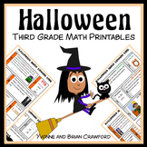 Halloween No Prep Common Core Math (3rd grade)