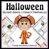 Halloween No Prep Common Core Literacy (2nd grade)