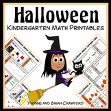 Halloween No Prep Common Core Math (Kindergarten)