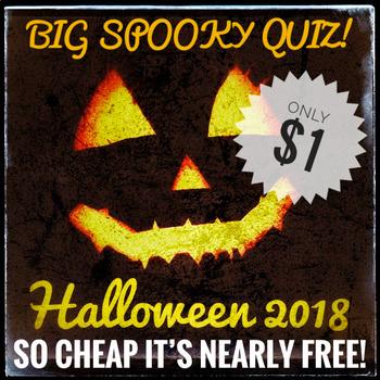 Halloween 2018. Halloween Quiz