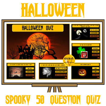 Halloween Quiz - 50 Seriously Spooky Questions!