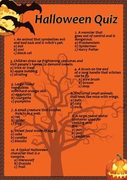 Halloween Quiz - FREE