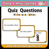 Halloween Quiz Questions