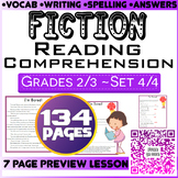 Fiction Reading Questions | Comprehension Questions | Set 4/4 | Grade 2-3