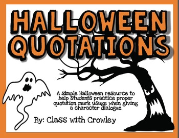 Halloween Quotations
