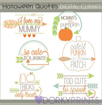Halloween Quotes Clip Art