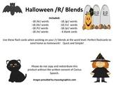 Halloween /R/ Blend Flashcards