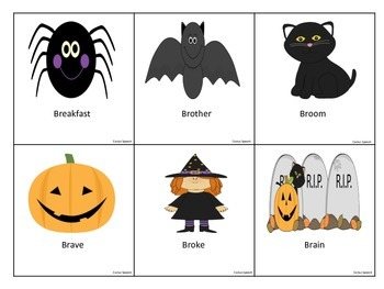 Halloween /R/ Blend Flashcards